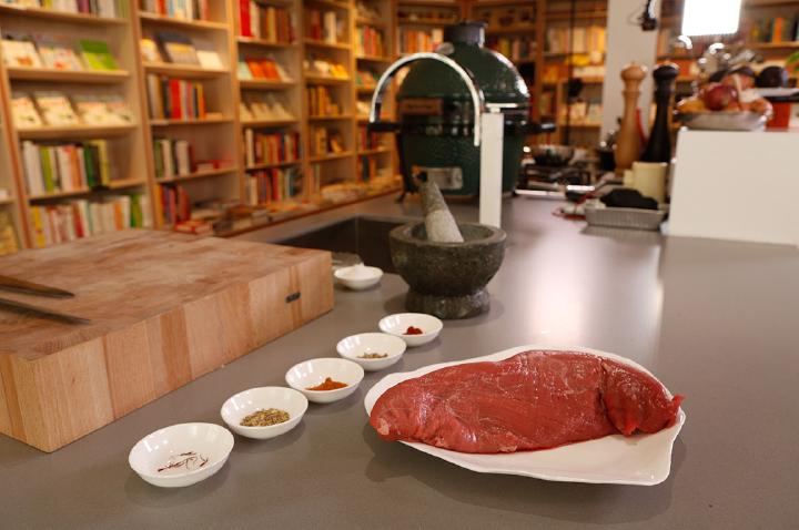 Ingrediënten voor de longhaas caveman